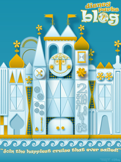iPhone/Android Wallpaper Featuring 'it's a small world'