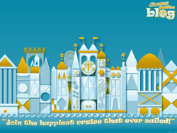 'it's a small world' Desktop Wallpaper