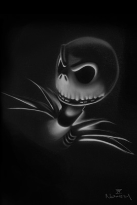 Jack Skellington by Artist Noah, Part of 'Tim Burton's The Nightmare Before Christmas'-Themed Collection
