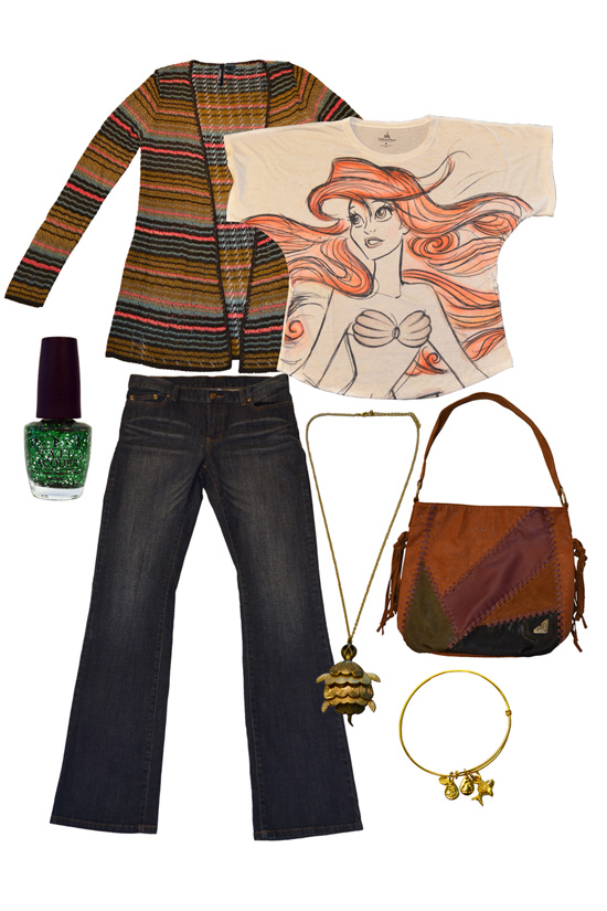 Disney Style Snapshots: An Outfit from Under the Sea
