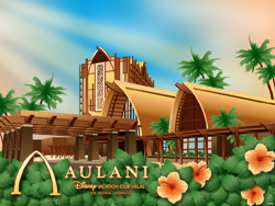 Desktop Wallpaper Featuring Aulani, Disney Vacation Club Villas, Ko Olina, Hawaii