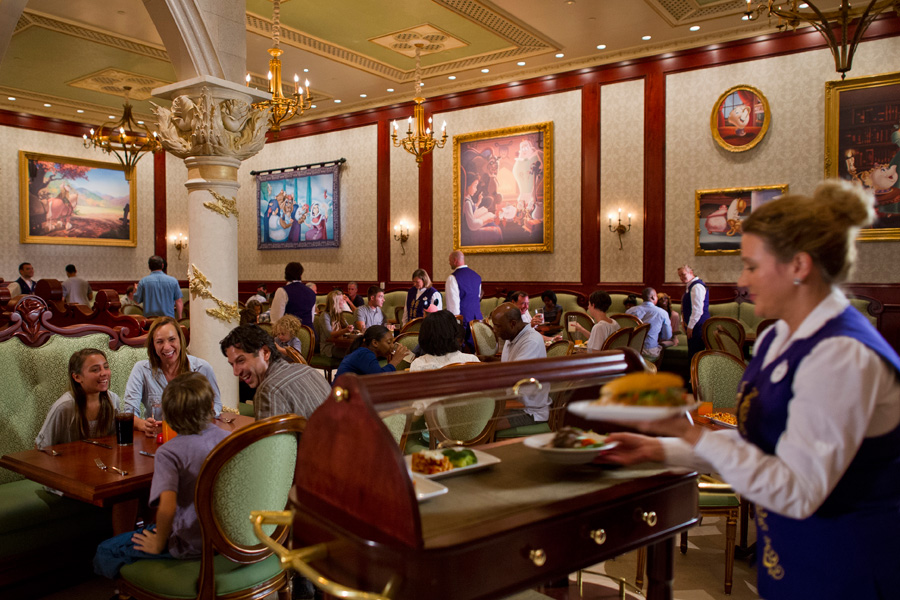 Disney Parks Menus Now Online For Be Our Guest Restaurant