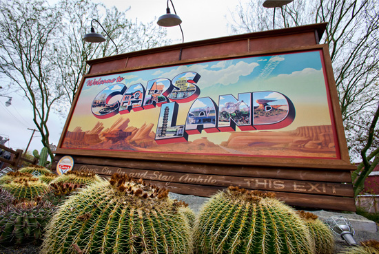 Cars Land at Disney California Adventure Park Receives Honor From TEA