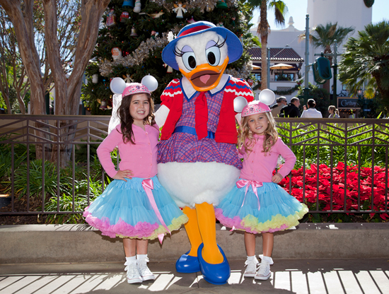 Sophia Grace and Rosie Visit Disney California Adventure Park for the 2012 Disney Parks Christmas Day Parade Segment