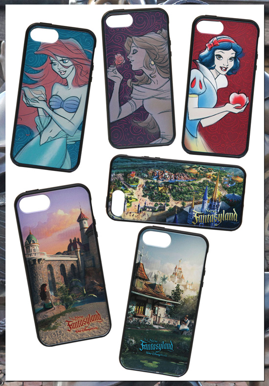 D-Tech On Demand Cases Commemorating the Grand Opening of New Fantasyland at Magic Kingdom Park on December 6