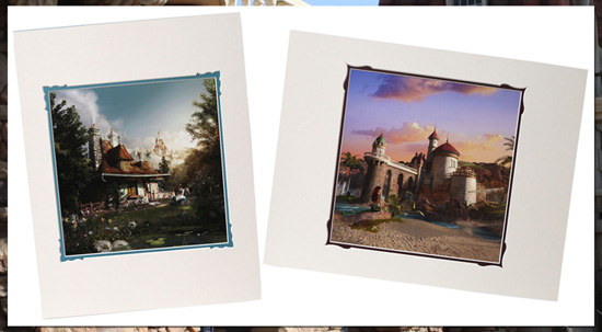 Prints Commemorating the Grand Opening of New Fantasyland at Magic Kingdom Park on December 6