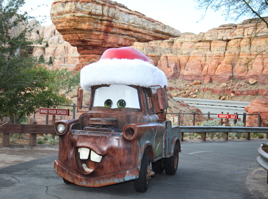 Mater in Cars Land at Disney California Adventure Park