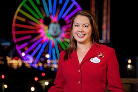 Disneyland Ambassador Danielle Berry in 2009-2010