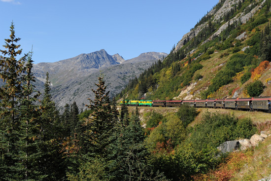 Take a Train Ride Through White Pass Summit With Adventures by Disney Experiences on a Disney Cruise to Alaska