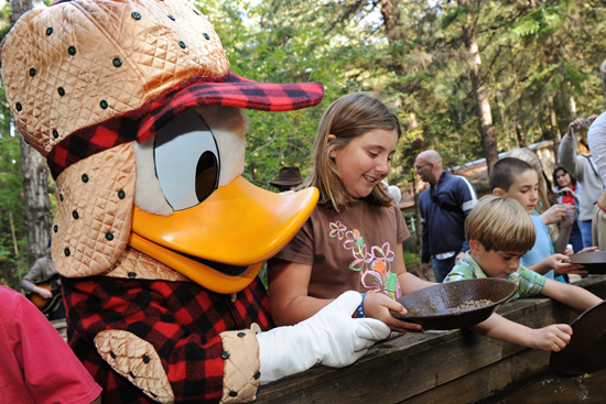 Pan For Gold in Rich Gold Country With Adventures by Disney Experiences on a Disney Cruise to Alaska