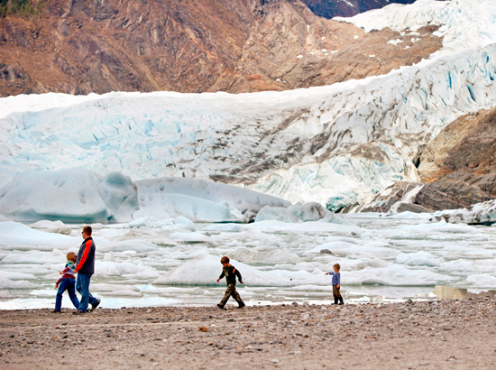 Trek Over the Mendenhall Glacier With Adventures by Disney Experiences on a Disney Cruise to Alaska