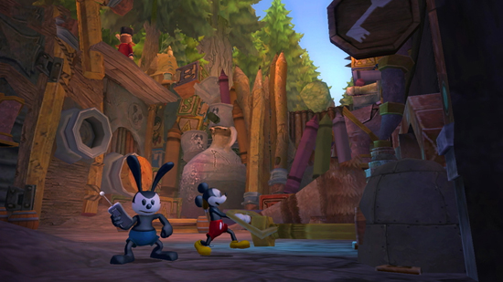 'Disney Epic Mickey 2: The Power of Two' to Take Players into Disneyland History When Game Releases November 18