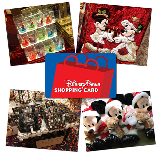 Enhanced Disney Parks Shopping Card Makes Unique Gift for Merchandise Fans