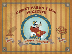 Desktop Wallpaper Featuring the Great Goofini, Star of the Barnstormer in New Fantasyland at Magic Kingdom Park