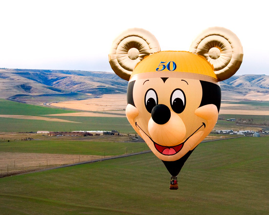 The Happiest Balloon on Earth Takes to the Skies Once Again