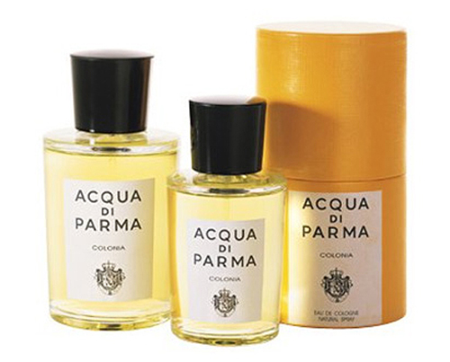 Acqua di Parma Colonia Fragrance Available at Mlle. Antoinette's Parfumerie in Disneyland Park