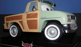 New Limited Edition Figure Inspired by the DisneyPixar 'Cars' Character John Lassetire