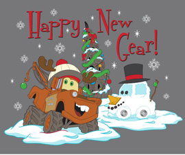 Happy New Gear Tees Coming to Disney California Adventure Park
