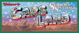 Welcome to Cars Land – Season's Speedings Billboard Collection Coming to Disney California Adventure Park