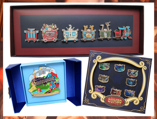 Celebrate the Grand Opening of New Fantasyland at Magic Kingdom Park with New Limited Edition Pins