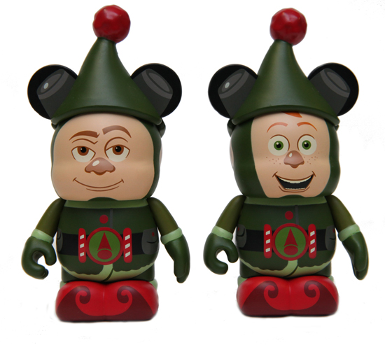 Vinylmation Figures Featuring Lanny and Wayne from Prep and Landing, Available Soon at the World of Disney Store at the Disneyland Resort