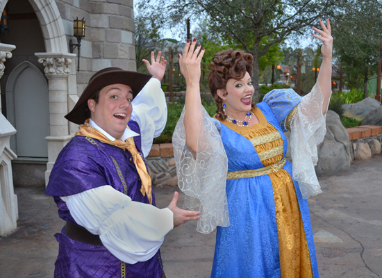 The Royal Majesty Makers in New Fantasyland at Magic Kingdom Park