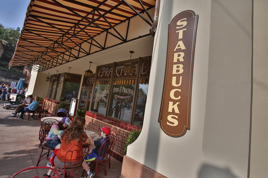 Starbucks Locations at Magic Kingdom Park, Epcot Set to Open Next Year