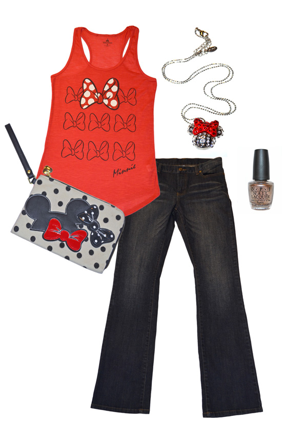 A TrenD Minnie Outfit to Wear at Disney Parks