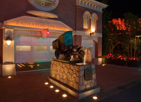 Disney Parks After Dark: Cars Land at Disney California Adventure Park