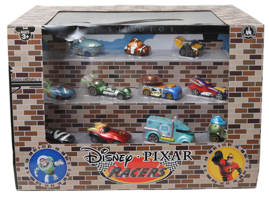 Pixar Disney Racers Coming to Disney Parks