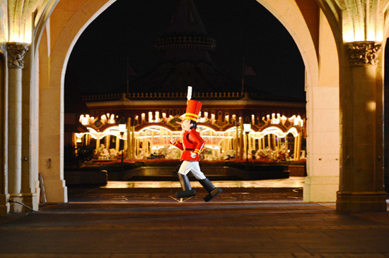 What Does It Take to March in Mickey's Once Upon a Christmastime Parade at Magic Kingdom Park?