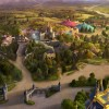 An artist rendering depicts New Fantasyland, the largest expansion in the 41-year history of the Magic Kingdom at Walt Disney World Resort in Lake Buena Vista, Fla.