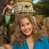 Actress and singer Jodi Benson, who provided the voice of Ariel in Disney's animated classic 'The Little Mermaid,' poses December 6, 2012 at the 'Under the Sea ~ Journey of the Little Mermaid' attraction at the Magic Kingdom theme park in Lake Buena Vista, Fla.  Benson, who was named a Disney Legend by The Walt Disney Co. in 2011, was one of the celebrities on hand to celebrate today's Grand Opening of New Fantasyland at Walt Disney World Resort.