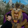 Actress Ginnifer Goodwin, who portrays Snow White on the ABC series &#8216;Once Upon a Time,&#8217; poses Dec. 6, 2012 with &#8216;Beast&#8217; from Disney&#8217;s classic film, &#8216;Beauty and the Beast,&#8217; in front of The Beast&#8217;s Castle at the Magic Kingdom theme park in Lake Buena Vista, Fla.  Goodwin was one of the celebrities on hand to celebrate today&#8217;s Grand Opening of New Fantasyland at Walt Disney World Resort.