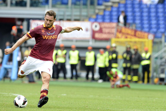 Francesco Totti and the Rest of AS Roma Will Train at ESPN Wide World of Sports