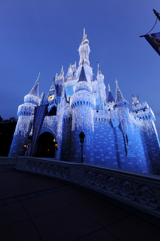 Castle Dream Lights at Magic Kingdom Park