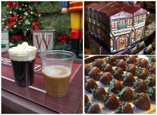 Treats from Karamell-Küche at the Germany Pavilion in Epcot