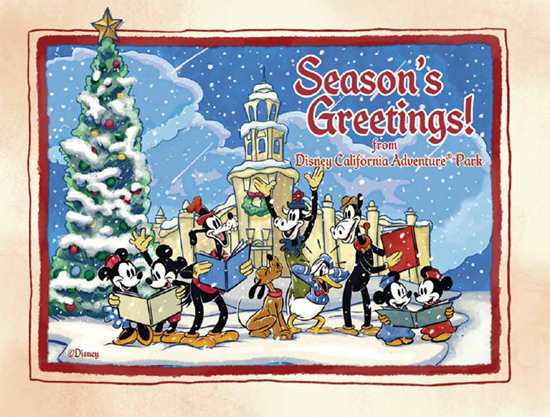 Disney California Adventure Park Artwork Available for the Holidays
