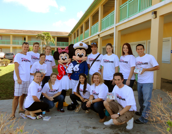 Disney Cruise Line Brings Holiday Cheer to Port Communities