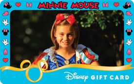 New Personalized Disney Gift Cards