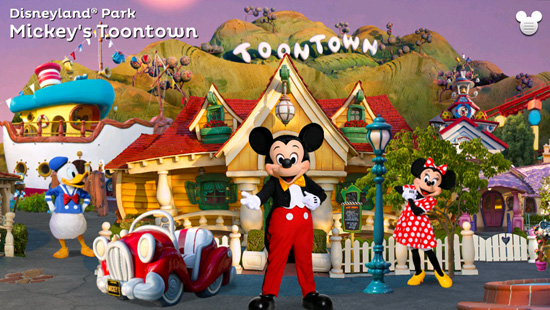 'Disneyland Explorer' App - Mickey's Toontown at Disneyland Park
