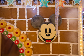 The 237-Square-Foot Gingerbread House on the Disney Dream