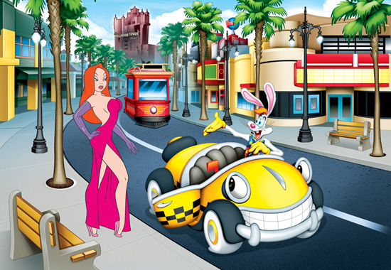 Hop On In, Jessica! Ink & Paint Cel to Debut at Disney's Hollywood Studios