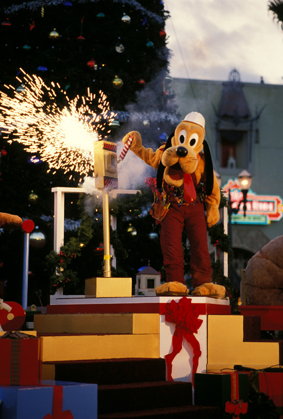 Holidays Around Walt Disney World Resort in the 1980s