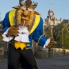 Beast in Front of His Castle in New Fantasyland at Magic Kingdom Park