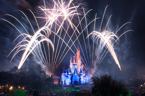 Celebrate New Year's Eve at Walt Disney World Resort