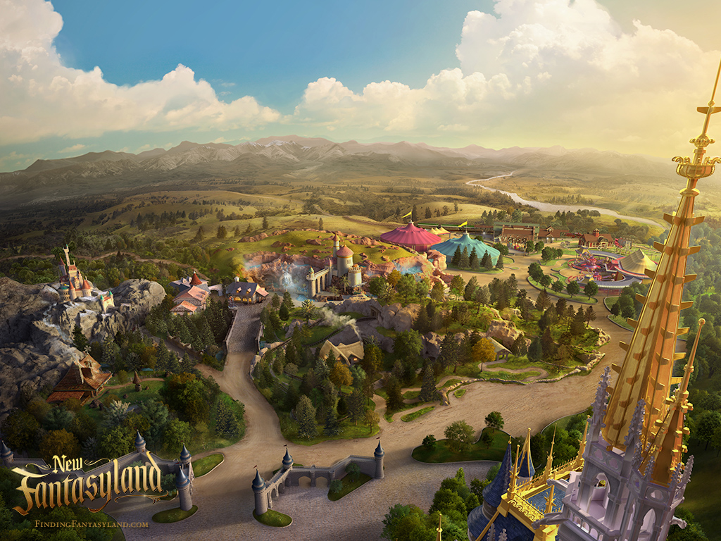 'Finding Fantasyland' at Magic Kingdom Park Desktop Wallpaper