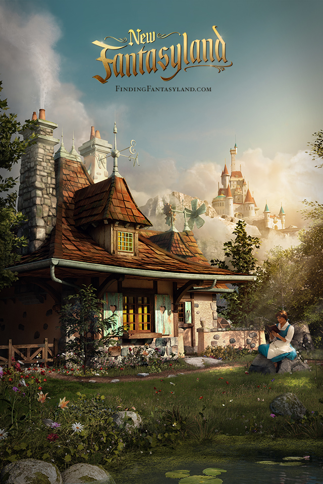 'Finding Fantasyland' at Magic Kingdom Park iPhone/Android Wallpaper