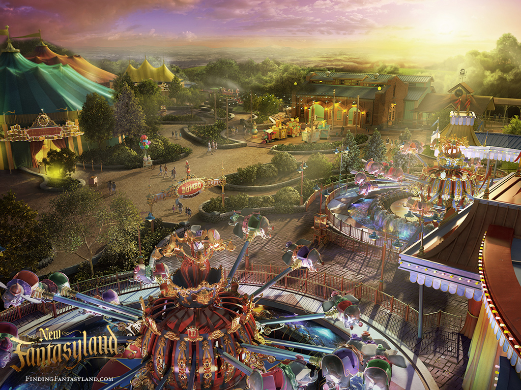 Finding Fantasyland at Magic Kingdom Park Desktop Wallpaper