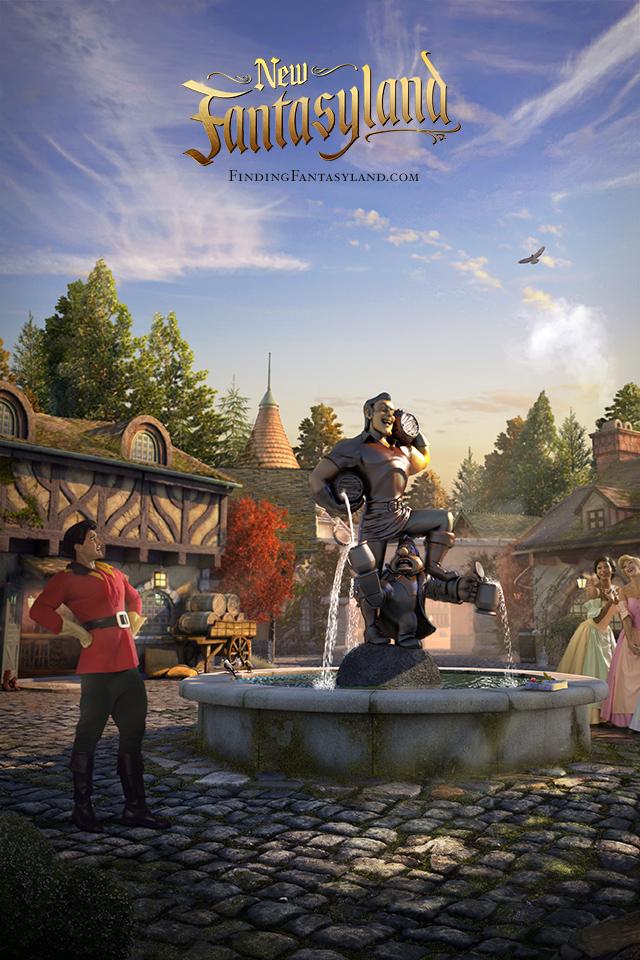 'Finding Fantasyland' at Magic Kingdom Park iPhone/Android Wallpaper